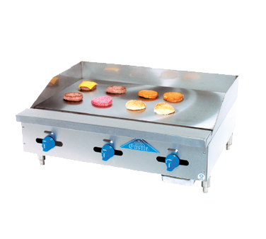 Comstock-Castle 3242MG griddle, gas, countertop