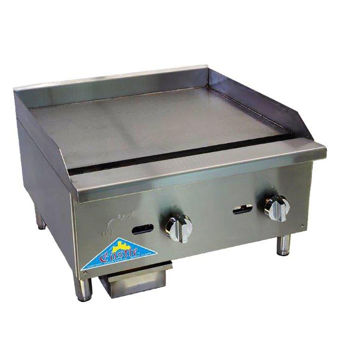 Comstock-Castle CCEGT48 griddle, gas, countertop