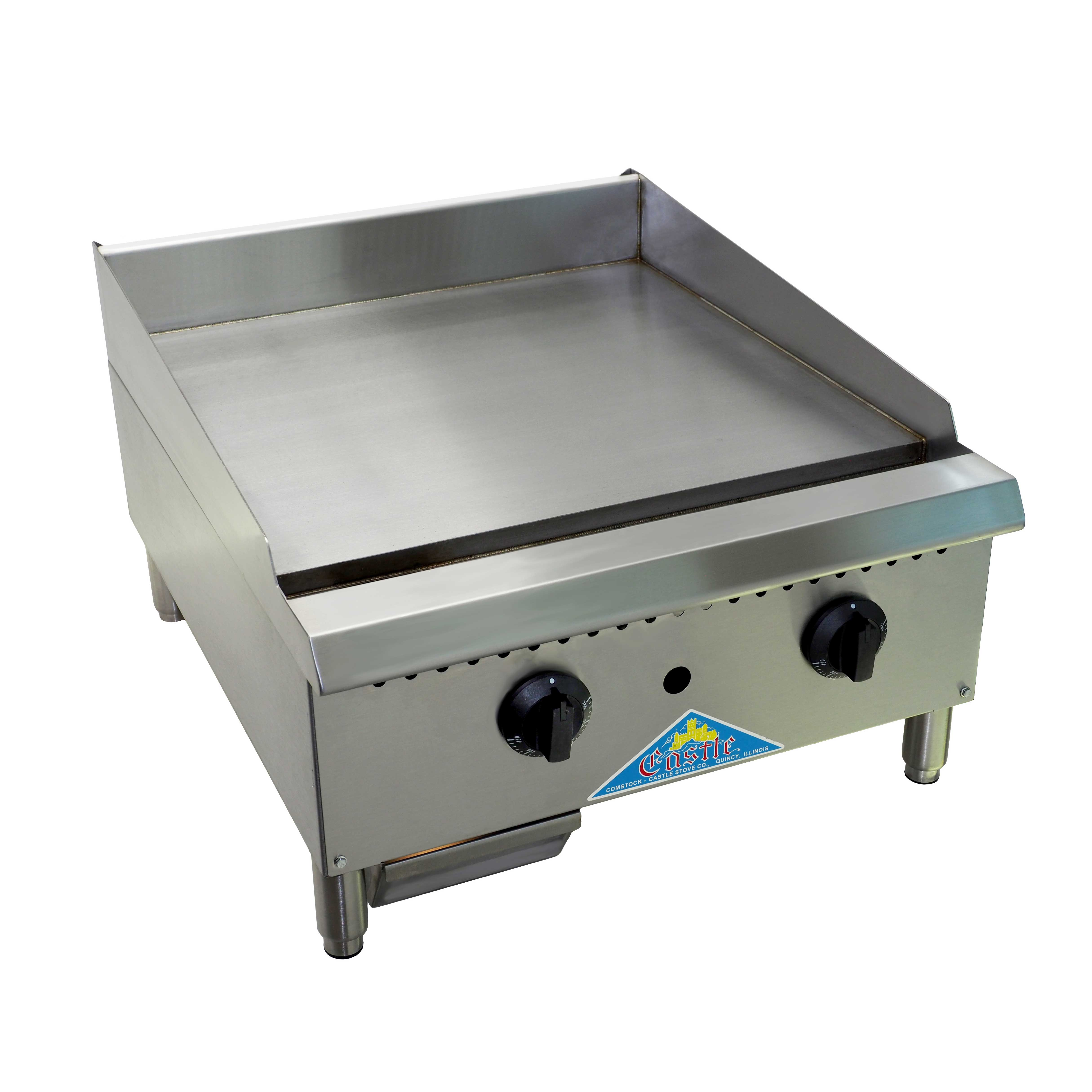 Comstock-Castle CCHG-24-1 griddle, gas, countertop