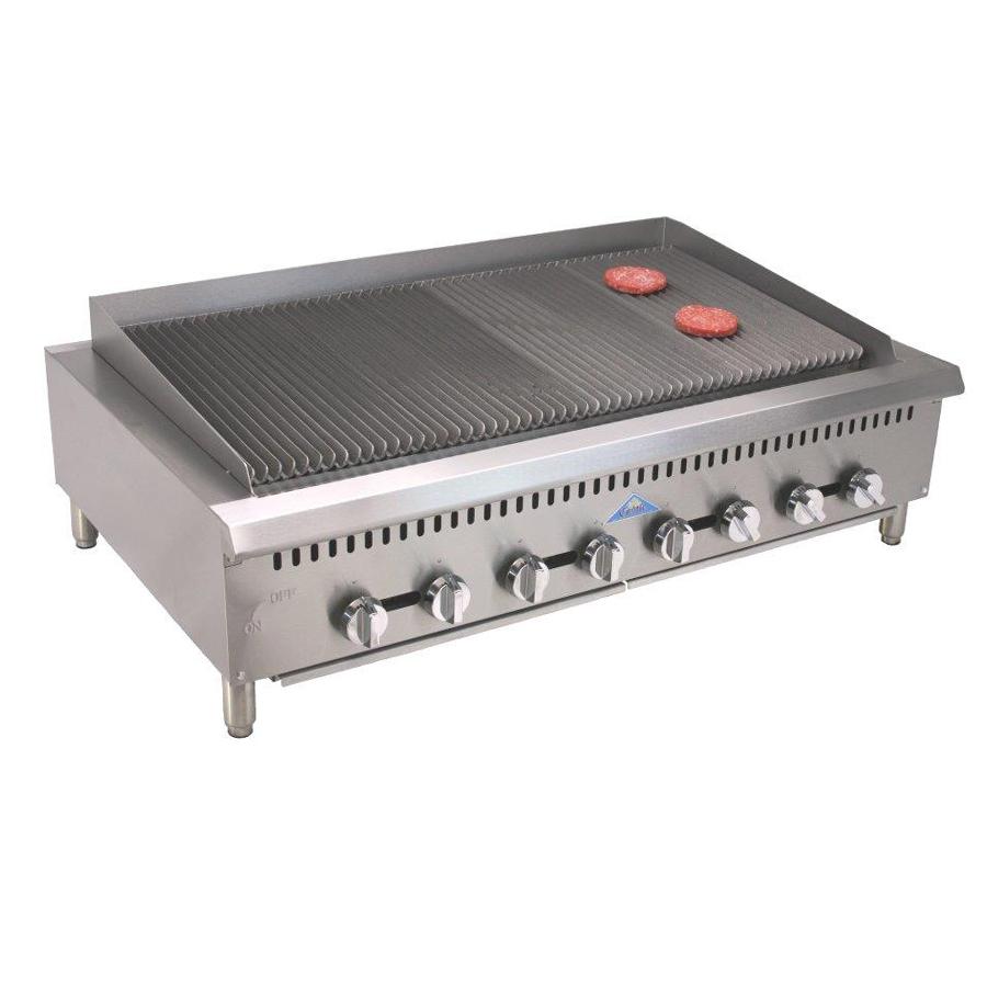 Comstock-Castle CCHRB48 charbroiler, gas, countertop