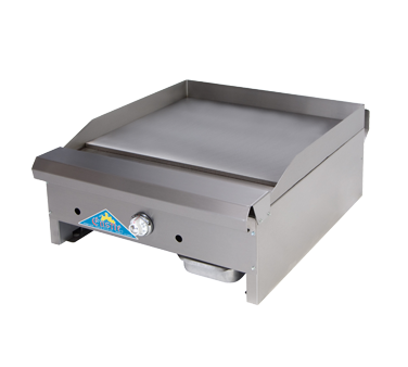 Comstock-Castle EG18-T griddle, gas, countertop
