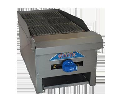 Comstock-Castle ELB18 charbroiler, gas, countertop