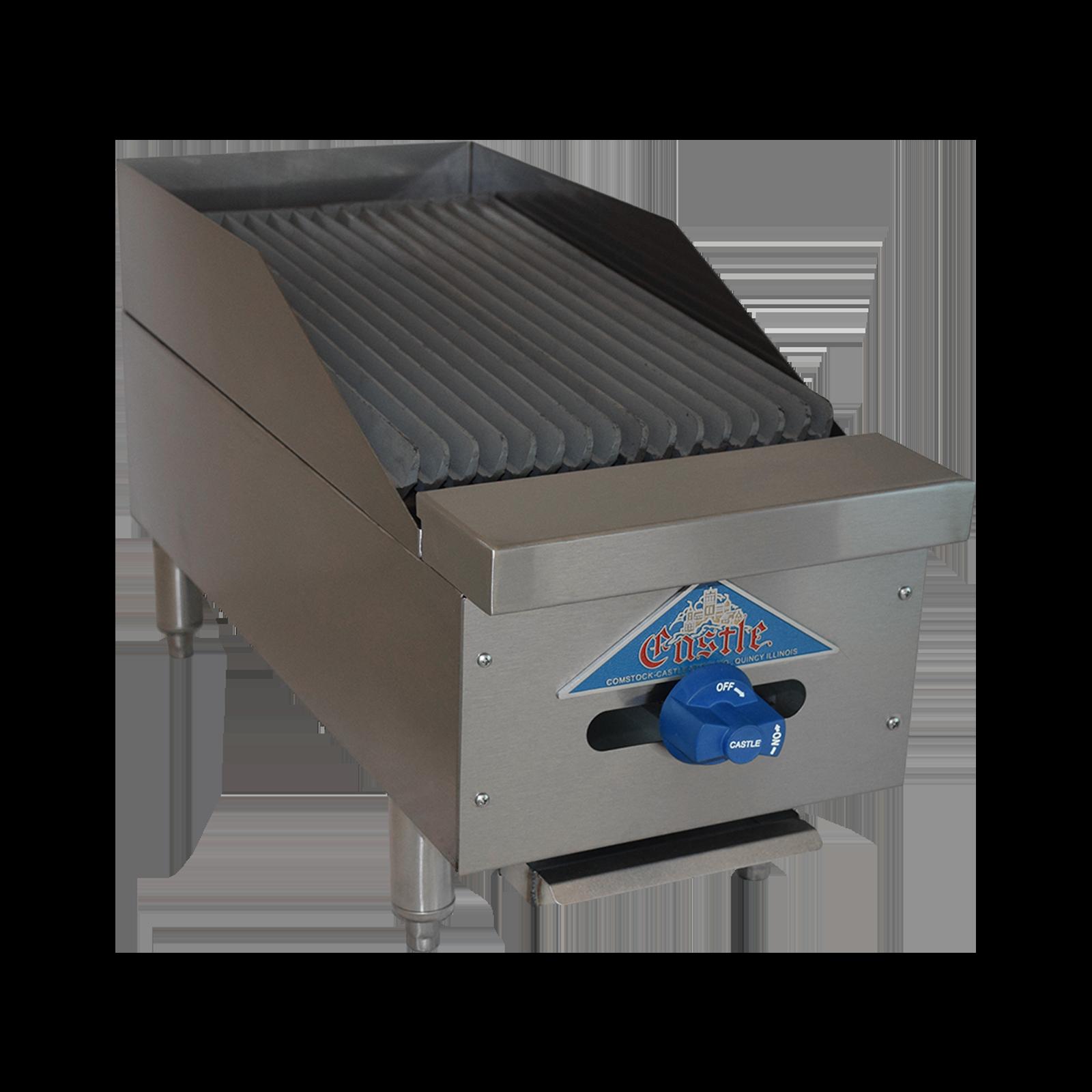 Comstock-Castle FHP12-1LB charbroiler, gas, countertop