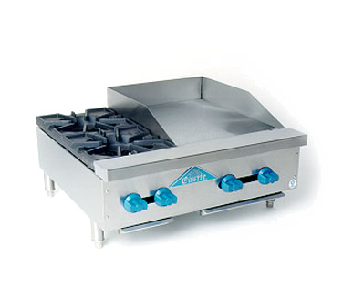 Comstock-Castle FHP30-18 griddle / hotplate, gas, countertop
