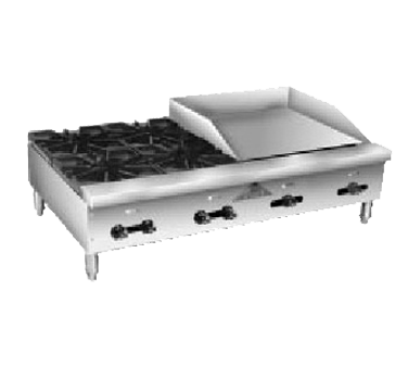 Comstock-Castle FHP36-24T griddle / hotplate, gas, countertop
