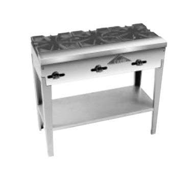 Comstock-Castle FHP3S hotplate, floor model, gas