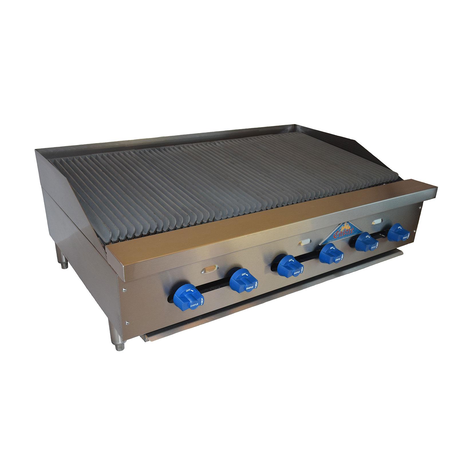 Comstock-Castle FHP42-3.5LB charbroiler, gas, countertop