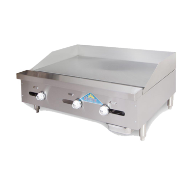 Comstock-Castle FHP42-42T griddle, gas, countertop