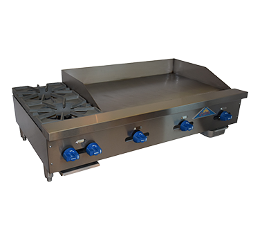 Comstock-Castle FHP48-36T griddle / hotplate, gas, countertop