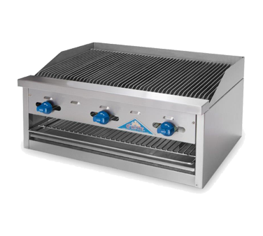 Comstock-Castle FHP48-4RBB charbroiler, gas, countertop
