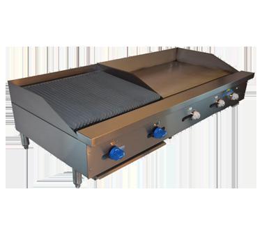 Comstock-Castle FHP60-36T-2LB griddle / charbroiler, gas, countertop