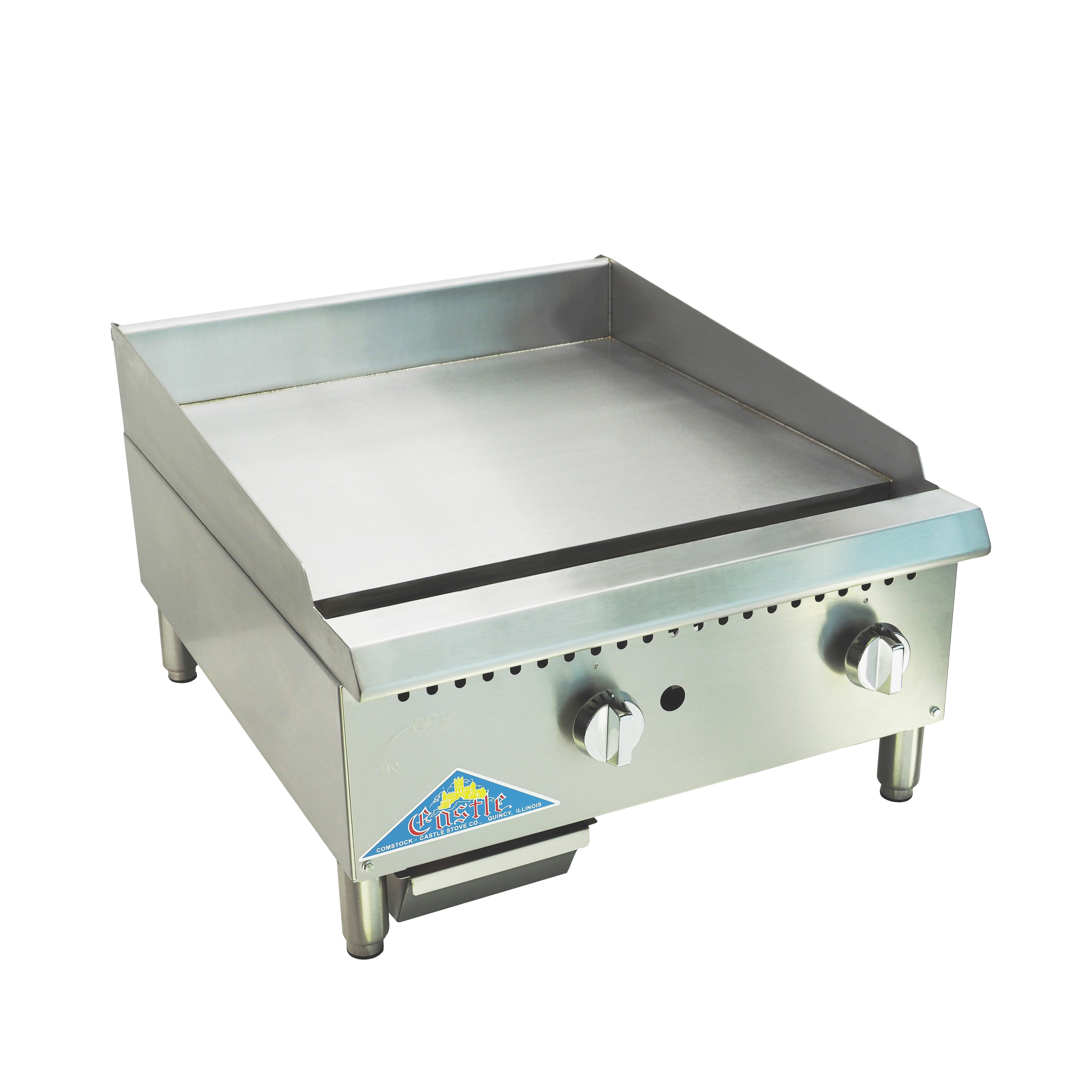 Comstock-Castle HG24T-1-C griddle, gas, countertop
