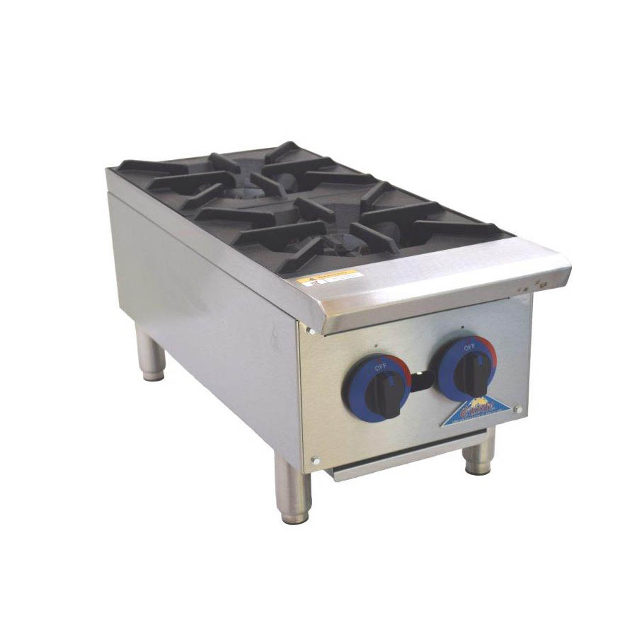 Comstock-Castle CCGHP-2 hotplate, countertop, gas