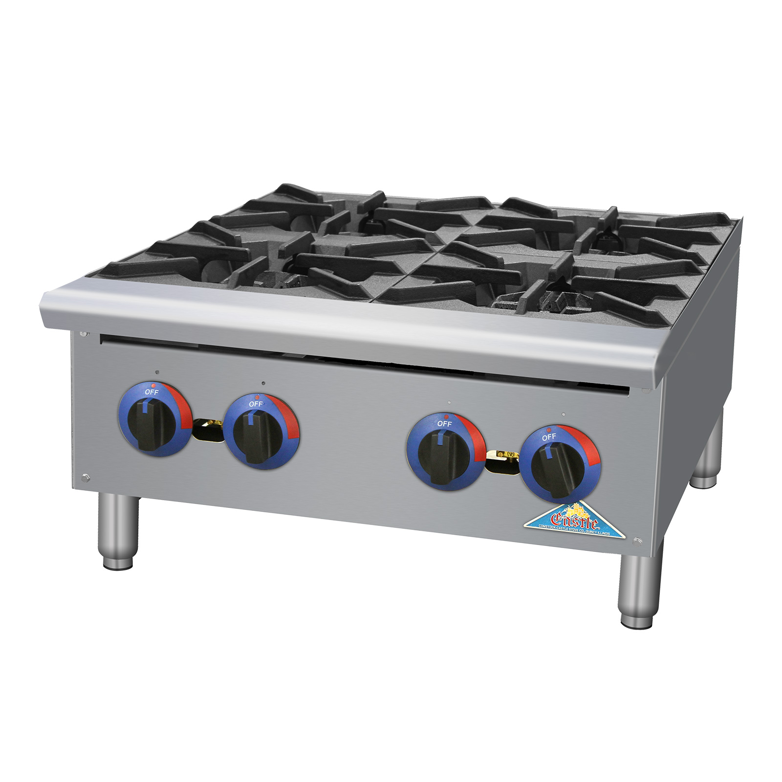 Comstock-Castle CCGHP-6 hotplate, countertop, gas