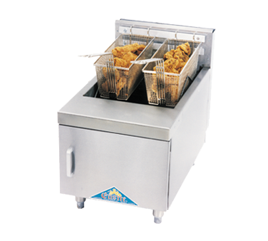 Comstock-Castle JO1HG fryer, gas, countertop, full pot