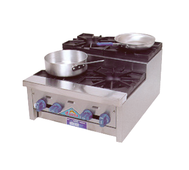 Comstock-Castle SUFHP24 hotplate, countertop, gas