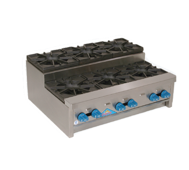 Comstock-Castle SUFHP36 hotplate, countertop, gas