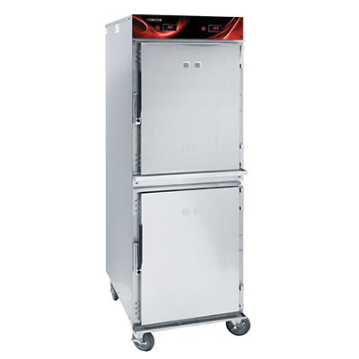 Cres Cor 1200-HH-SS-2DE heated cabinet, mobile
