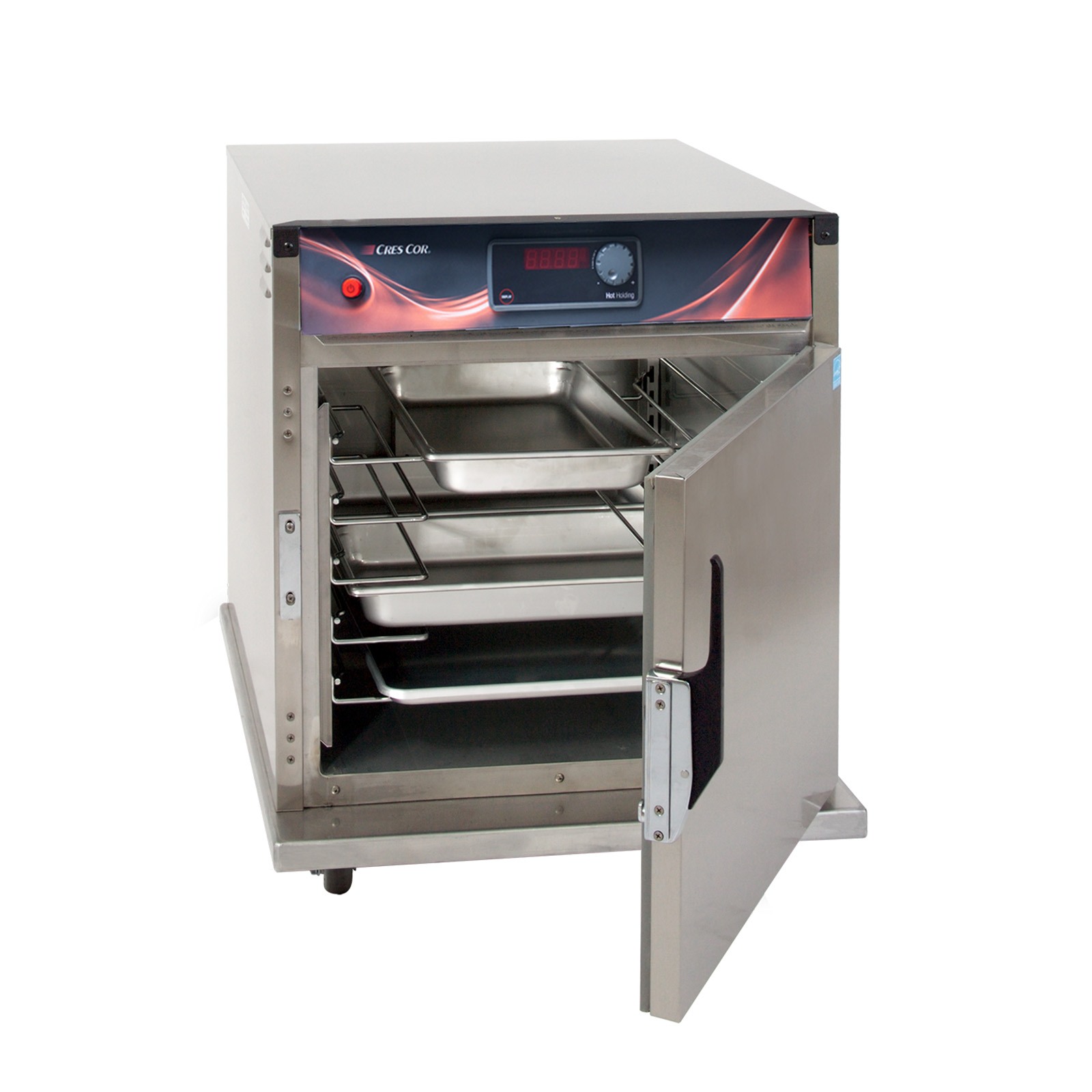 Cres Cor H-137-SUA-5D heated cabinet, mobile