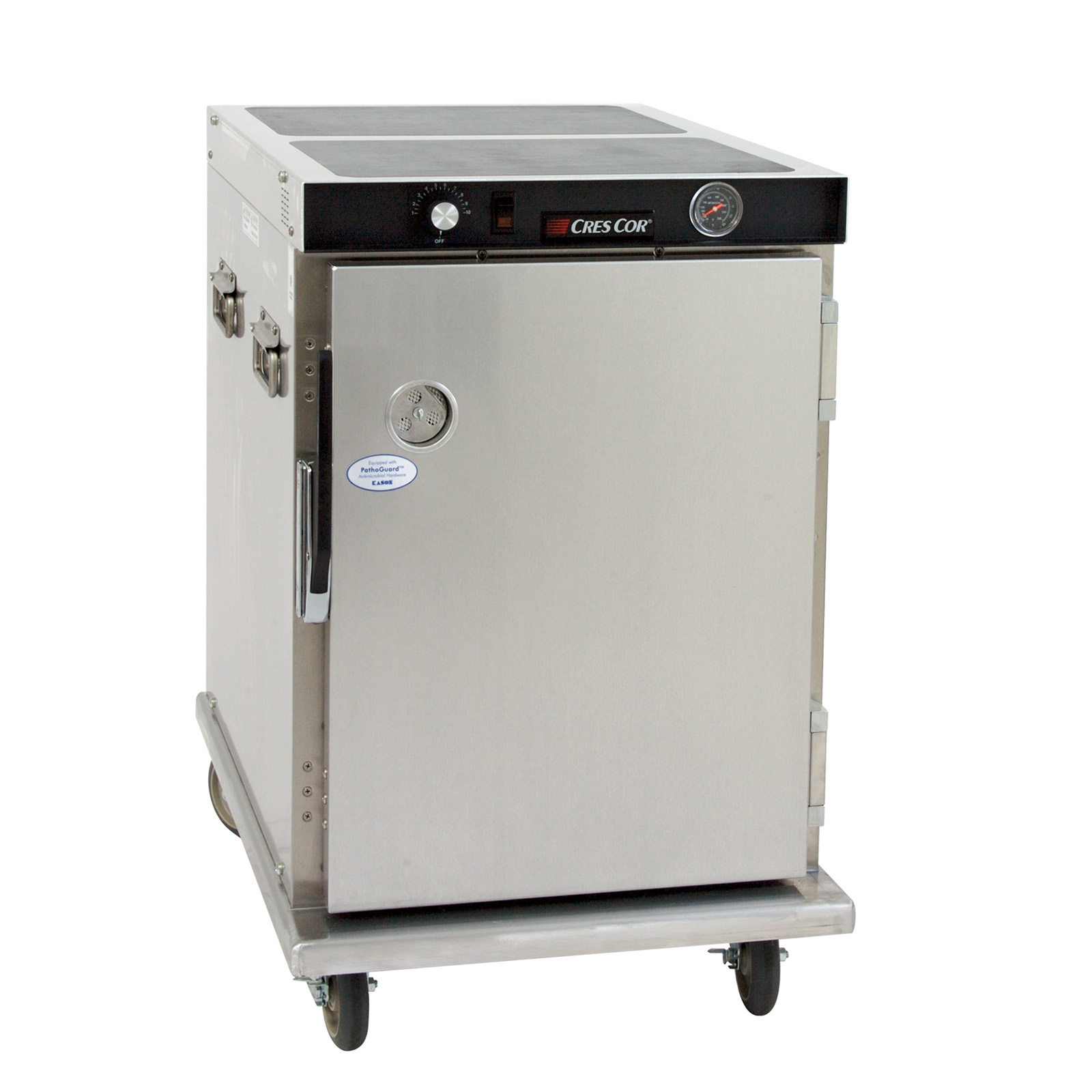 Cres Cor H-339-12-188C heated cabinet, mobile