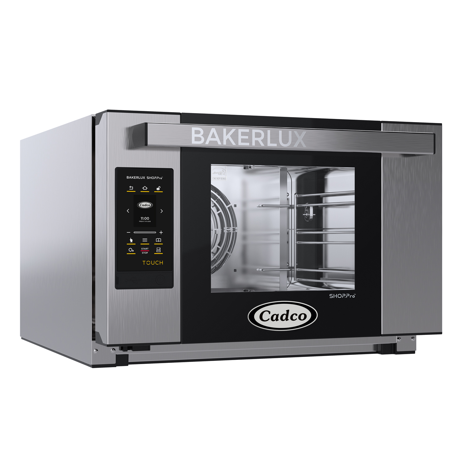 Cadco XAFT-03HS-TD convection oven, electric