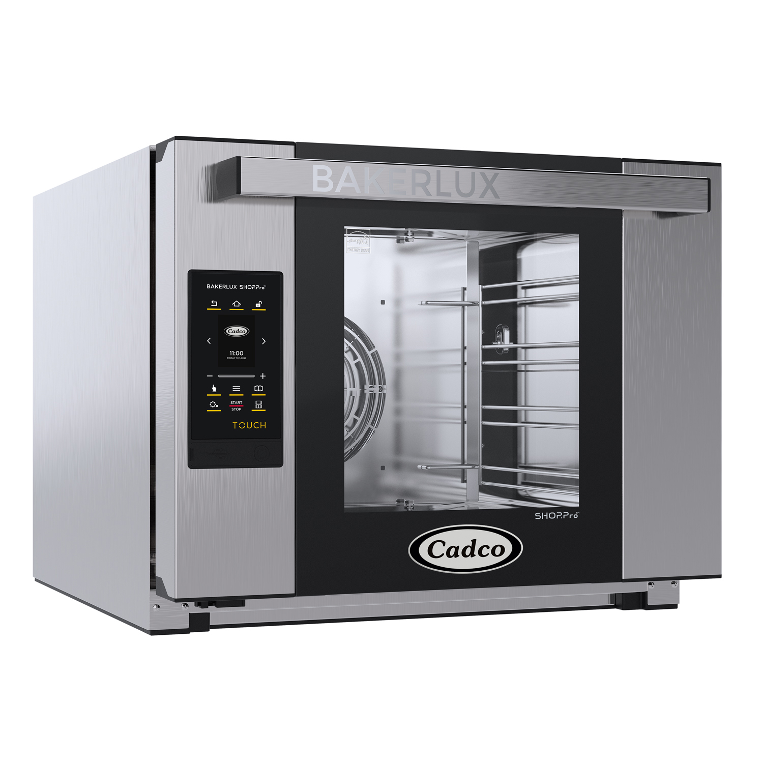 Cadco XAFT-04HS-TD convection oven, electric