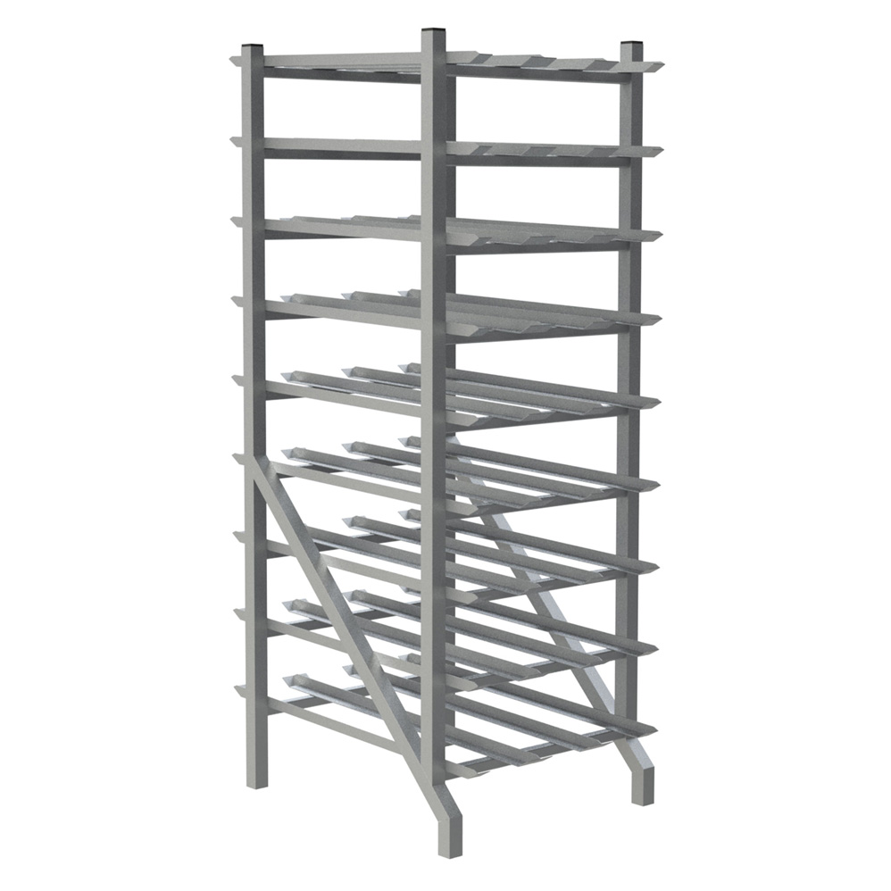 CR162 Choice Equipment can storage rack