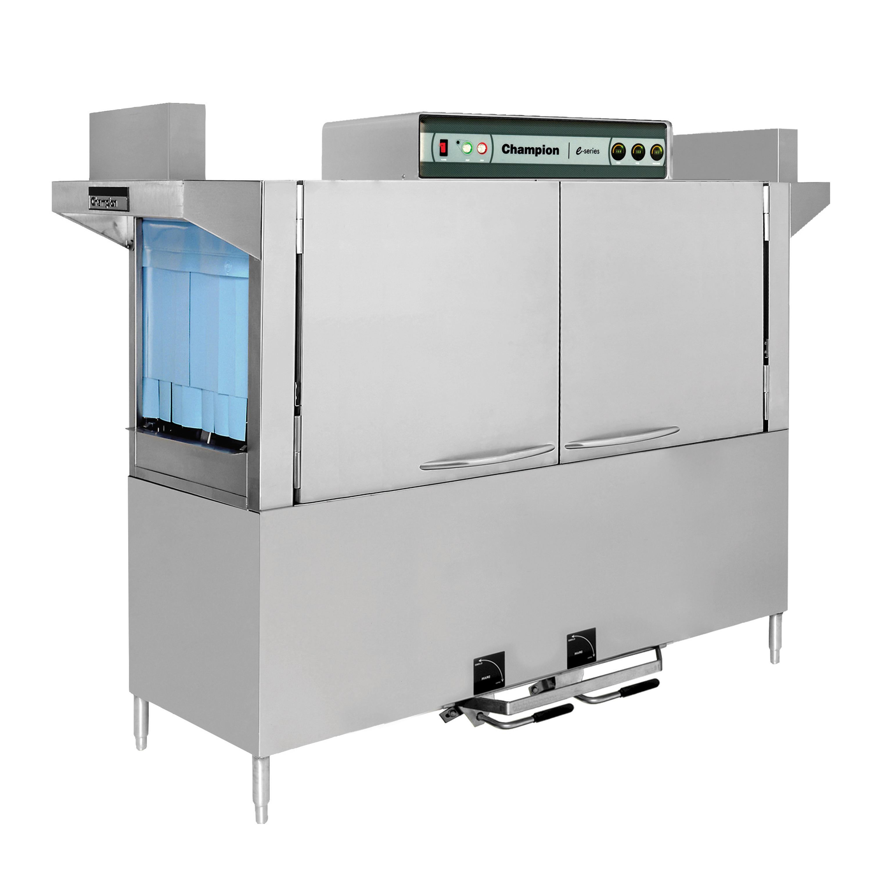 Champion 100 HDPW dishwasher, conveyor type