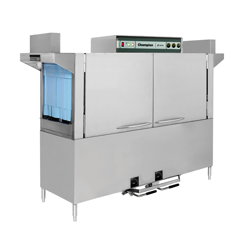 Champion 110 FFPW dishwasher, conveyor type
