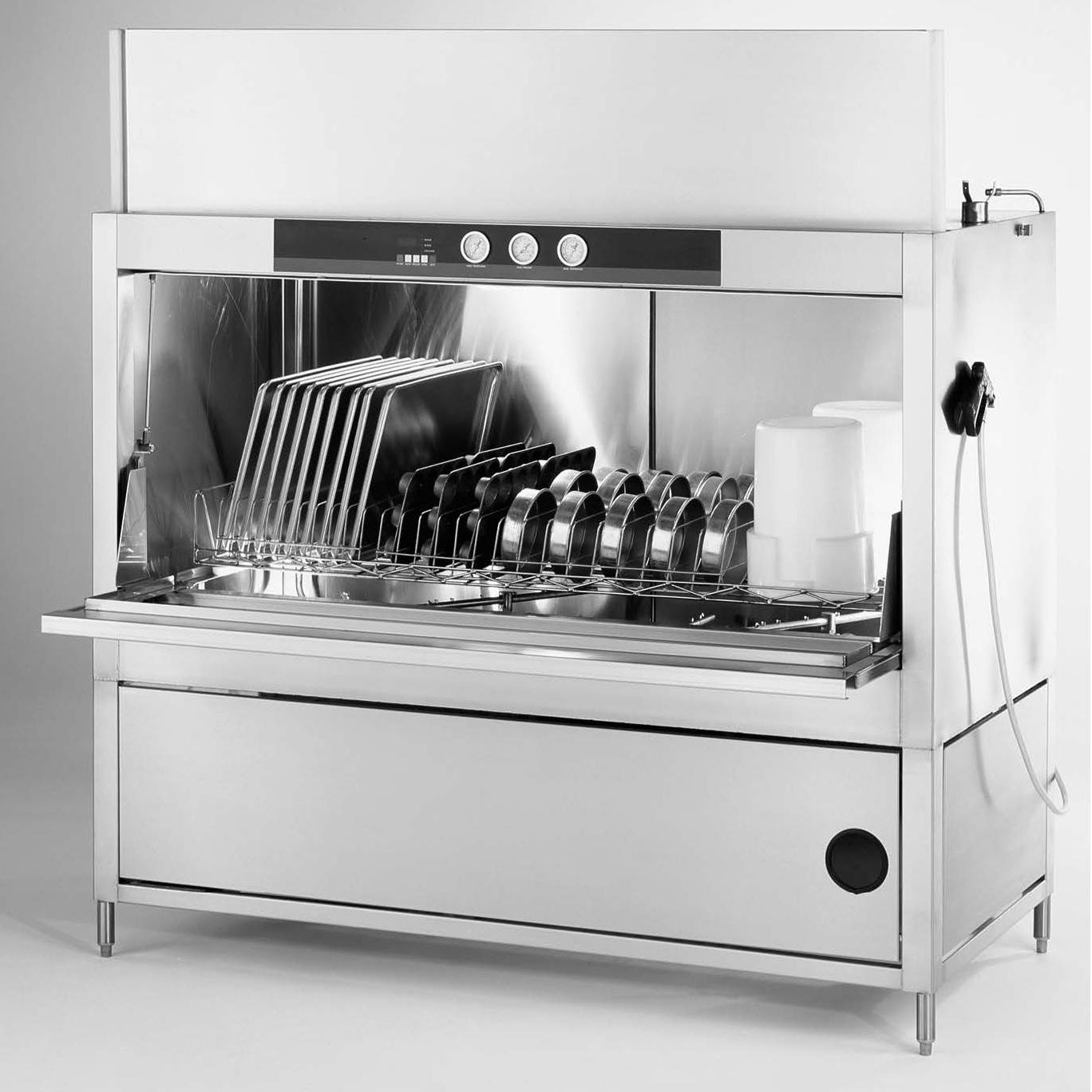 Champion PP-36 dishwasher, pot/pan/utensil, door type