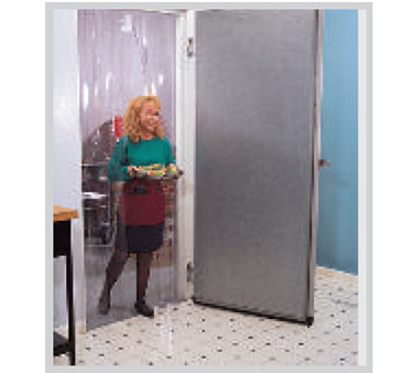 Chase Doors 6602LT 40X80 strip curtain unit