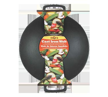 Chef Master 06106X cast iron wok pan