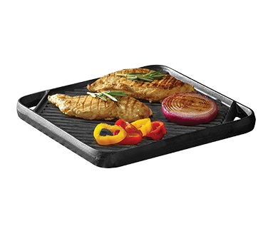 Chef Master 08102Y cast iron grill / griddle plate