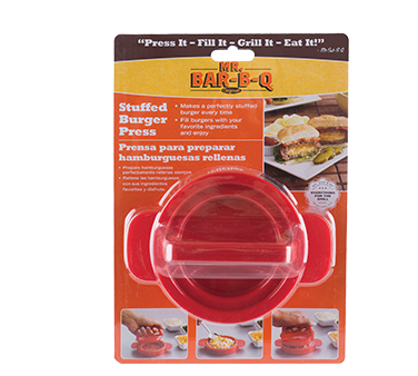 Chef Master 40232SBX hamburger patty press, handheld