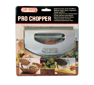 Chef Master 90017 knife, rocker mincing