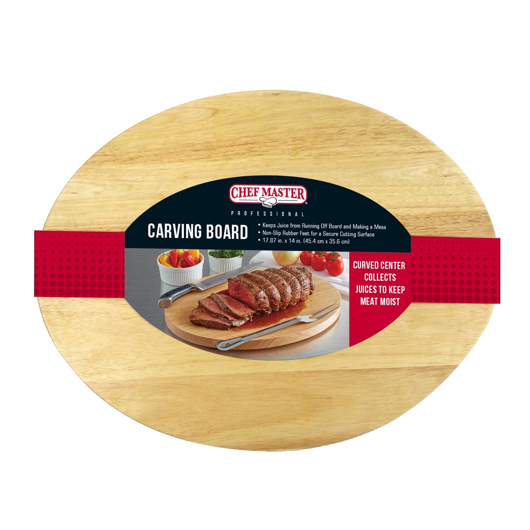Chef Master 90072 cutting board, wood