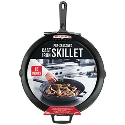 Chef Master 90205 cast iron fry pan