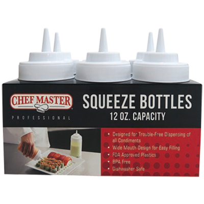 Chef Master 90207 squeeze bottle