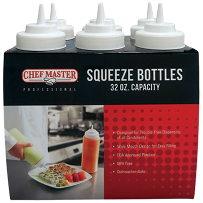 Chef Master 90210 squeeze bottle