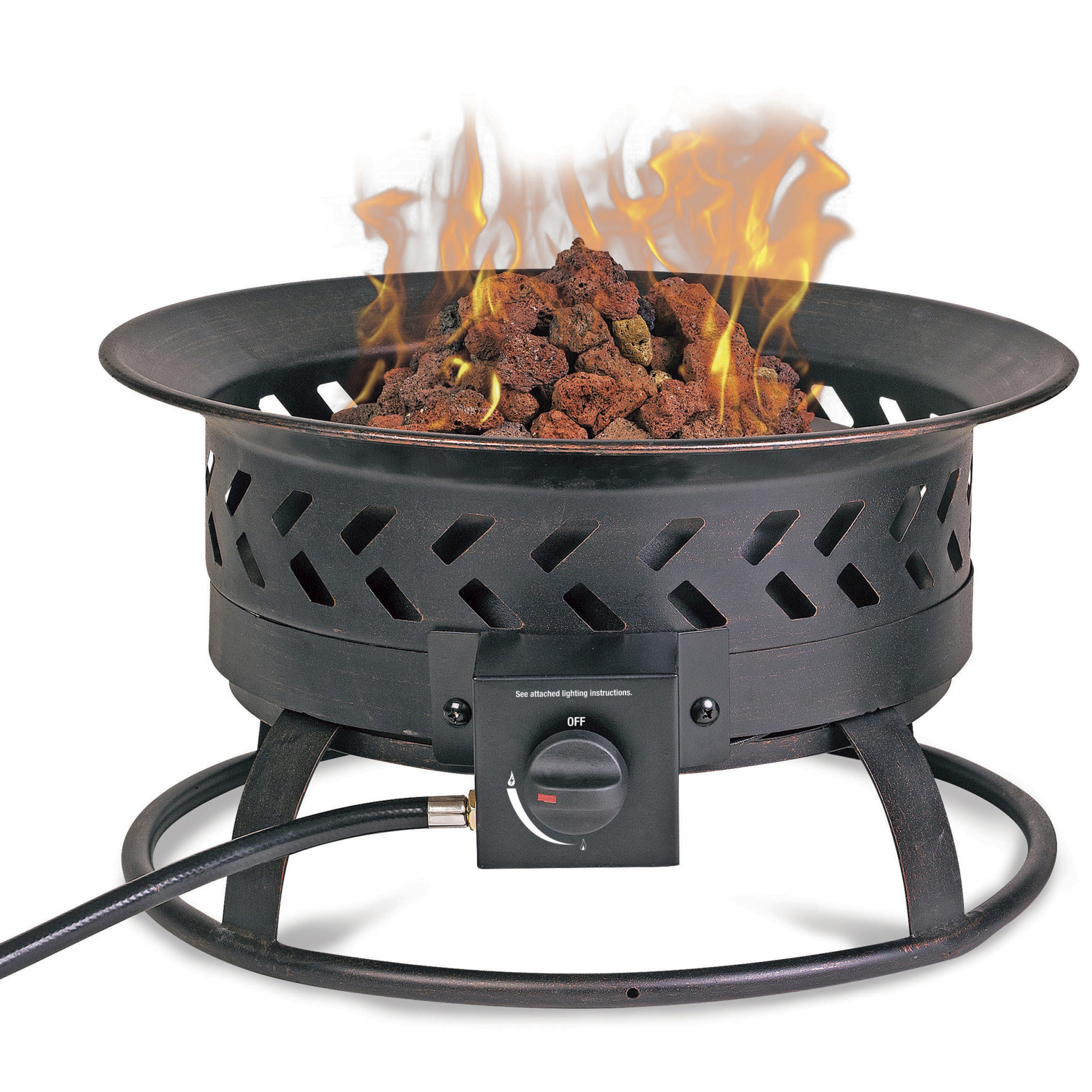 Chef Master GAD16600S fire pit, outdoor