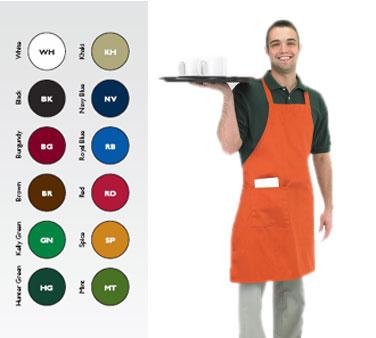 Chef Revival 601BAC-BG bib apron