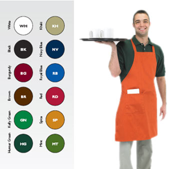 Chef Revival 601BAC-RD bib apron