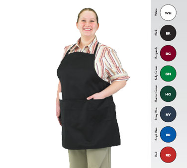 Chef Revival 601BAO-3-RB bib apron