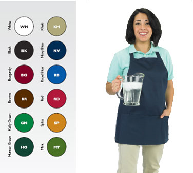 Chef Revival 602BAFH-NV bib apron