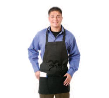 Chef Revival 602PS-BK bib apron