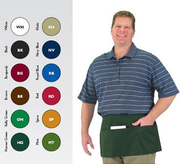 Chef Revival 605WAFH-WH waist apron