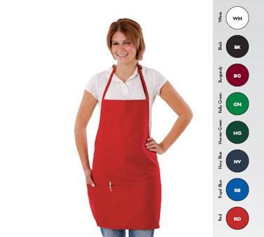 Chef Revival 612BAFH-BK bib apron