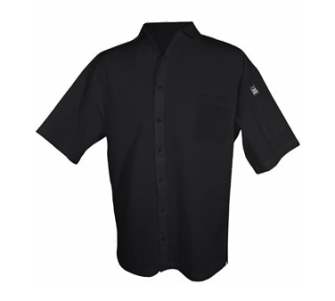 Chef Revival CS006BK-S cook's shirt