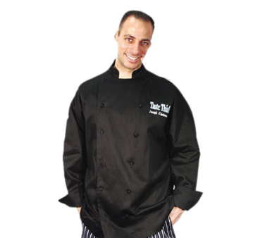 Chef Revival J017BK-4X chef's coat