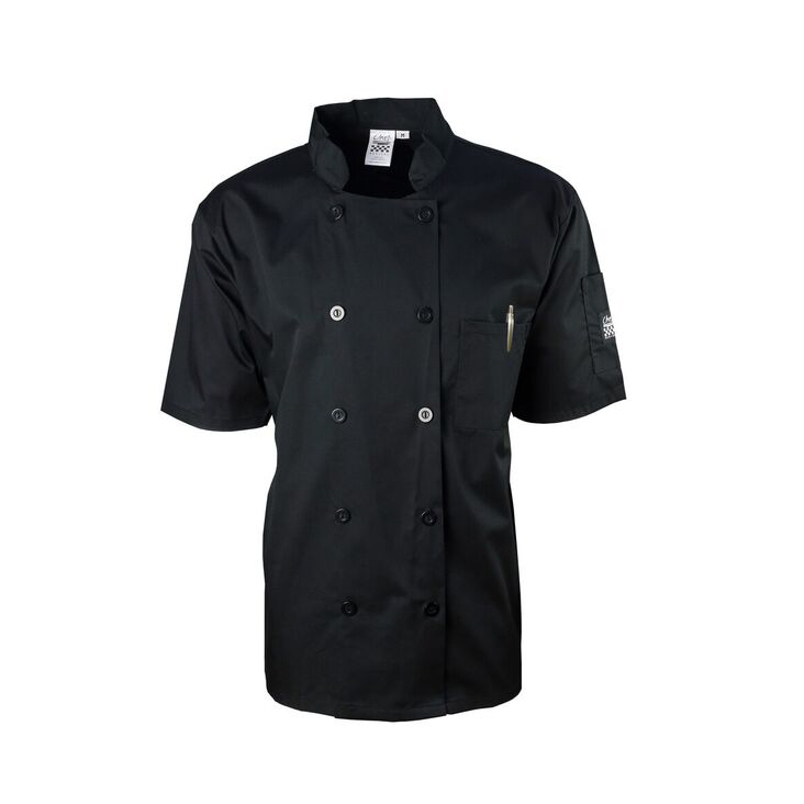 Chef Revival J109BK-M chef's coat